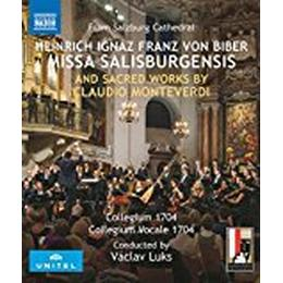 Biber; Monteverdi: Missa Salisburgensis and other sacred works [Collegium Vocale 1704; Collegium 1704; Václav Luks] [Naxos: NBD0066V] [Blu-ray]